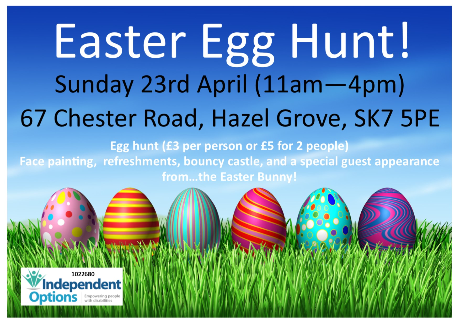 Roller skating hazel grove - Independent Options Easter Egg Hunt